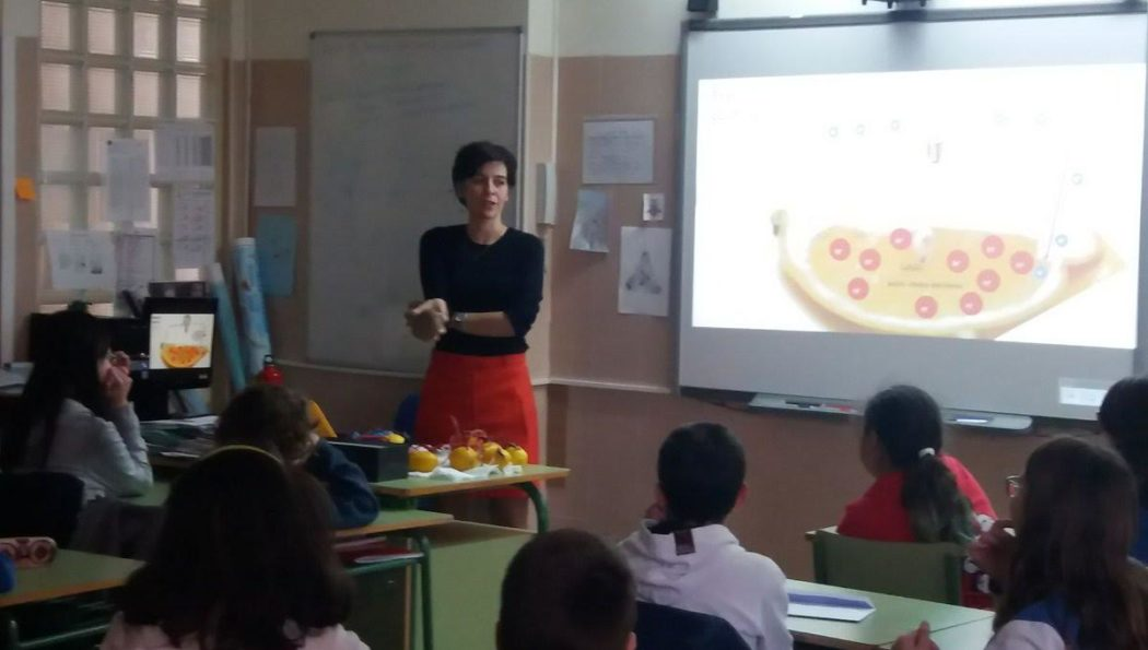 At CEIP Carmen Iglesias