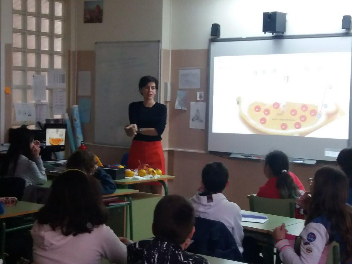 At CEIP Carmen Iglesias
