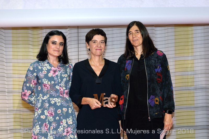 Mas award, science category to Montserrat Calleja